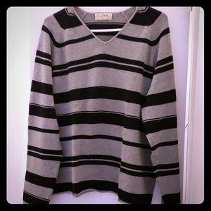 J. Crew gray/black sweater